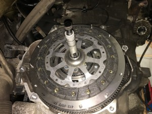 Clutch fitting